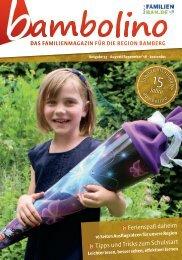 Bambolino - Das Familienmagazin für Bamberg und Umgebung