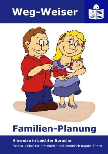 Familien-Planung - Leben mit Handicaps eV