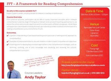 281118 FHT FRAMEWORK FOR READING COMPREHENSION
