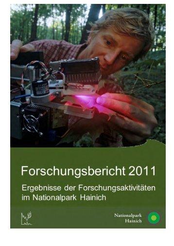 Forschungsbericht 2011 - Nationalpark Hainich
