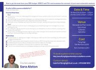 050319 FHT HOW TO GET THE MOST FROM YOUR SEN BUDGET SENCO & TAs 2DAY