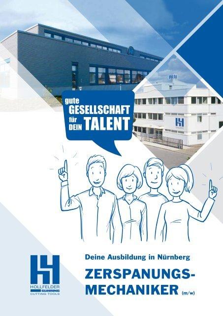 Deine Ausbildung in Nürnberg ZERSPANUNGSMECHANIKER