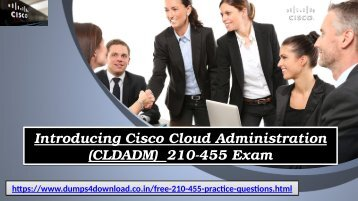 Download 210-455  Braindumps - Cisco 210-455 Questions Exam Dumps