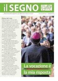 ll Segno - Mensile della Diocesi die Bolzano-Bressanone - Anno 54, numero 7, ottobre 2018