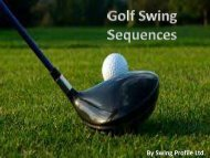 Golf Swing Sequences- Analyse Every Golf Swings