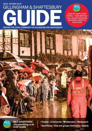 Gillingham & Shaftesbury Guide October 2018