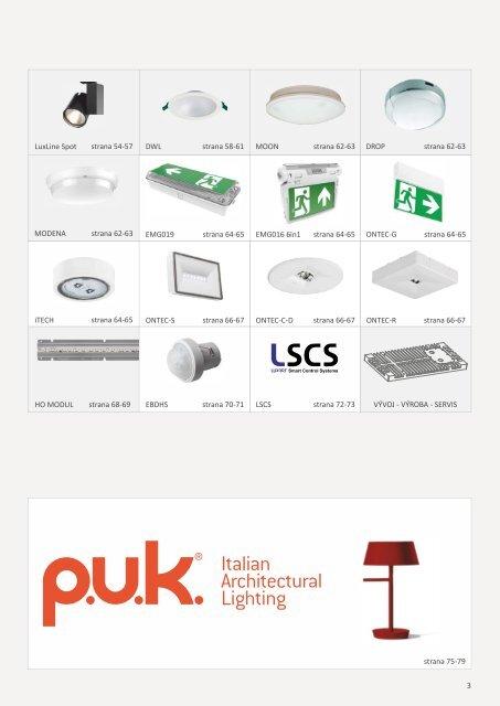 LUXART Lighting General Catalogue 2019-01