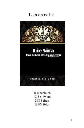 """Leseprobe """"Die Sira: Das Leben des Gesandten"""" von Utman bin Badis"""