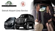 Book Airport Limo Service in Detroit