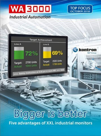 WA3000 Industrial Automation TOP FOCUS 2018