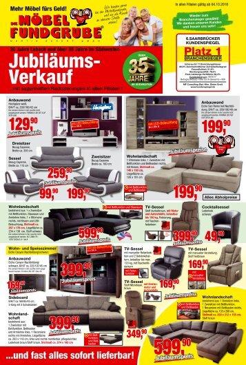Die Möbelfundgrube - Jubiläums-Verkauf
