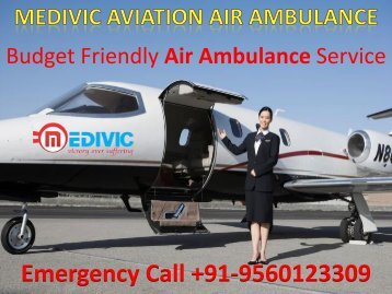 World Class Medical Air Ambulance Service in Delhi