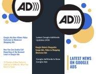 Latest News On Google Ads
