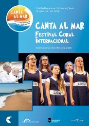 Calella 2018 - Program Book