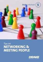 Tips on Networking and Meeting People