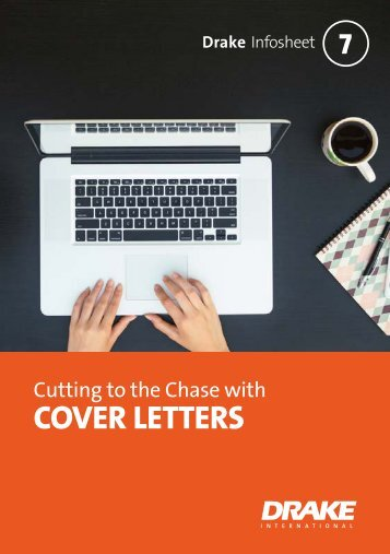 Cutting to the chase with cover letters