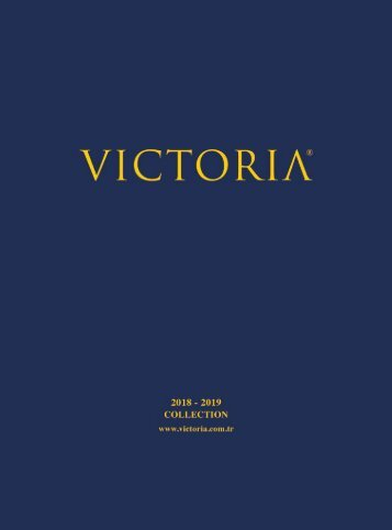 VICTORIA NEWEST CATALOGUE 2018