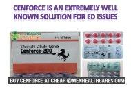 MenHealthCares - Cenforce 100mg