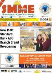 SMME NEWS - SEPTEMBER 2018 ISSUE