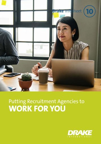 Putting recruitment agencies to work for you