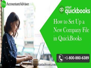 How to Create QuickBooks Desktop Company File - Tutorial