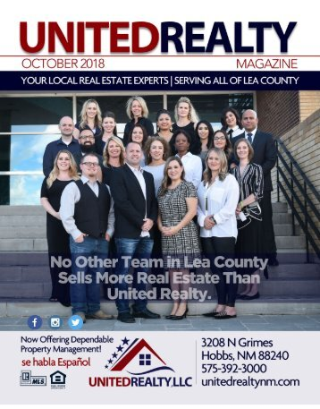United Realty Magazine October 2018