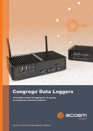 ECOTECH Congrego Data Loggers brochure