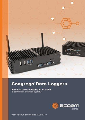 ECOTECH Congrego Data Logger brochure