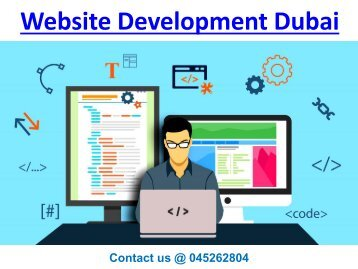 Web Development Service Dubai-Contact 045262804