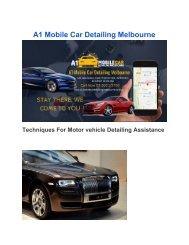 Mobile Car Detailing Melbourne pdf