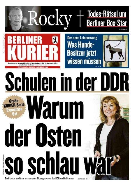 Berliner Kurier 04.10.2018