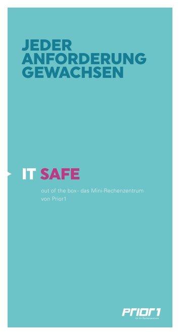 IT SAFE - Mini Data Center | Prior1