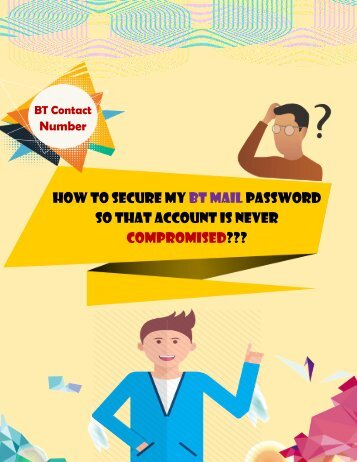 How to Secure my BT Mail Password?