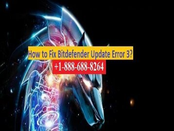 Fix Bitdefender Antivirus Update Error 3