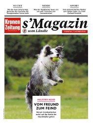 s'Magazin usm Ländle, 7. Oktober 2018
