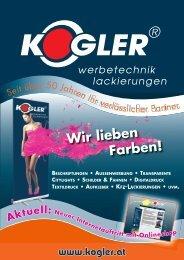 Wir lieben Farben! - Kogler GmbH & Co KG