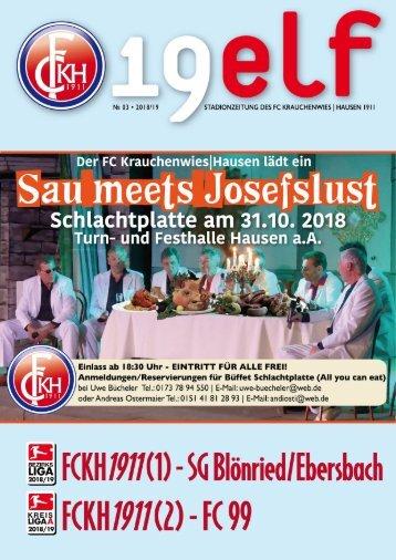 FCKH19elf • No. 03 • 2018/19
