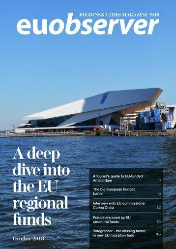 Regions & Cities 2018: A deep dive into the EU regional funds