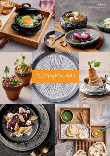 Playground 2018-2019 KATALOG