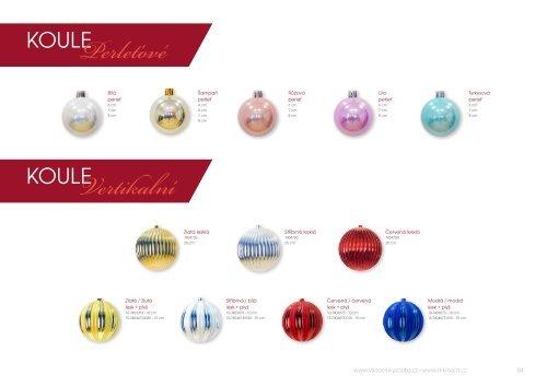 MK mont illuminations Vánoční výzdoba katalog 2018