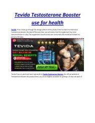 Ingredients of Tevida Supplement