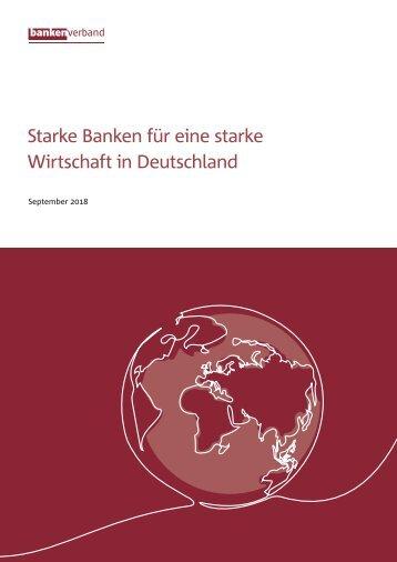 Starke Banken für eine starke Wirtschaft
