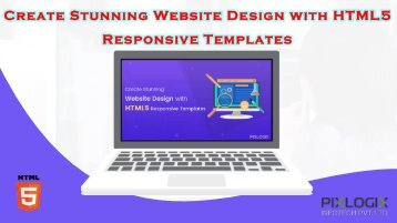 Create Stunning Website Design with HTML5 Responsive Templates
