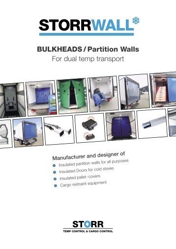 STORR_Bulkheads / Partition walls UK_2018