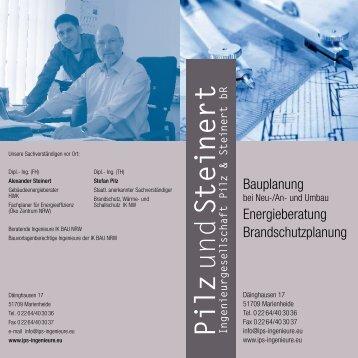bei IPS - Ingenieurgesellschaft Pilz und Steinert