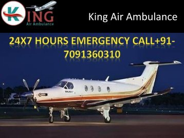 Gest Very Low Fare King Air Ambulance Services in Kolkata