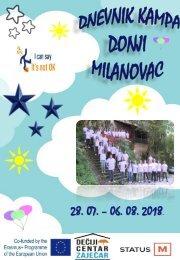 Omladinska razmena - Donji Milanovac