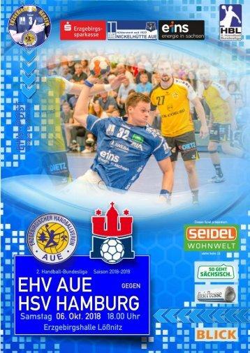 EHV-Post: EHV Aue gegen HSV Hamburg