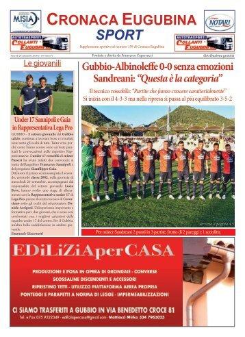 Cronaca Eugubina Sport n.159