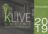 CATALOGO KLIVE CUCINE 2019